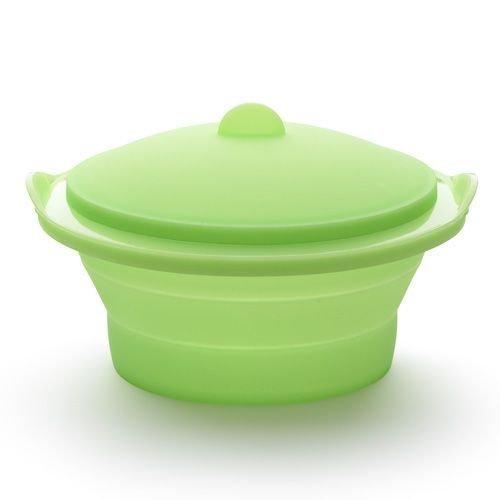 Пароварка складная Lekue, салатовая