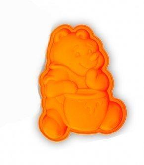 """Форма для кекса """"Винни с медом """" Lekue (цвет:оранжевый)"""