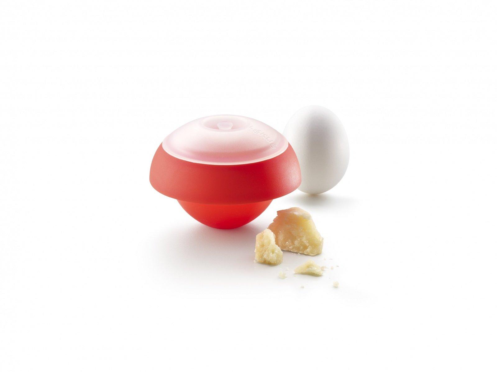 Яйцо-минутка Lekue, форма шара, красный