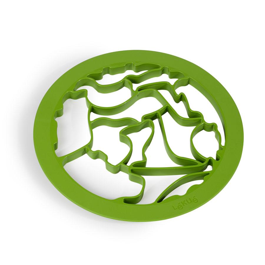 Форма для печенья Животные Lekue салатовая