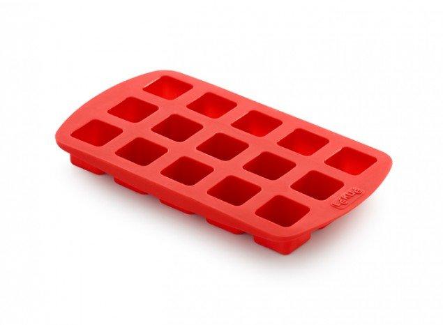 """Форма для конфет """"Куб"""" Lekue, красная"""
