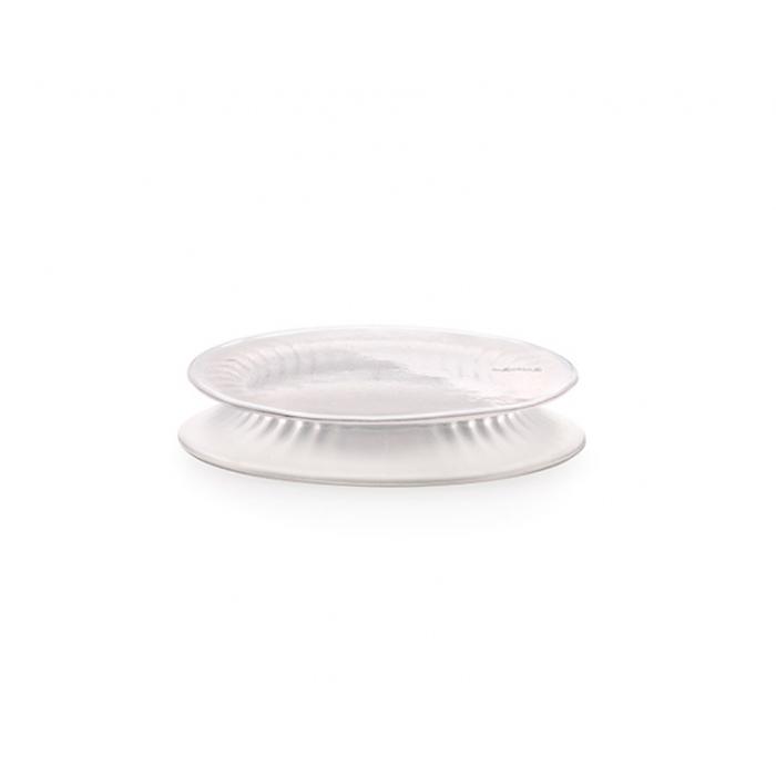 Крышка 15 см Lekue белая силиконовая