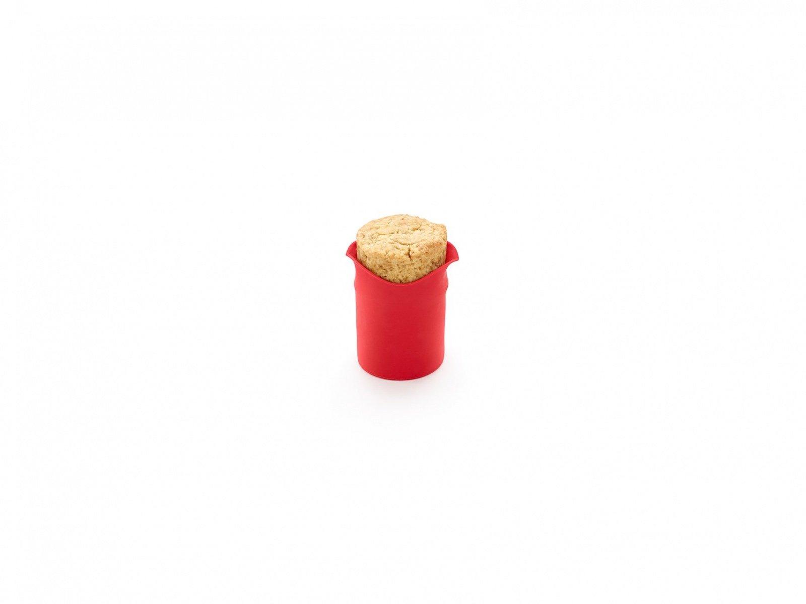 """Форма для печенья """"Стаканчики"""" 8 шт. Lekue, красные"""