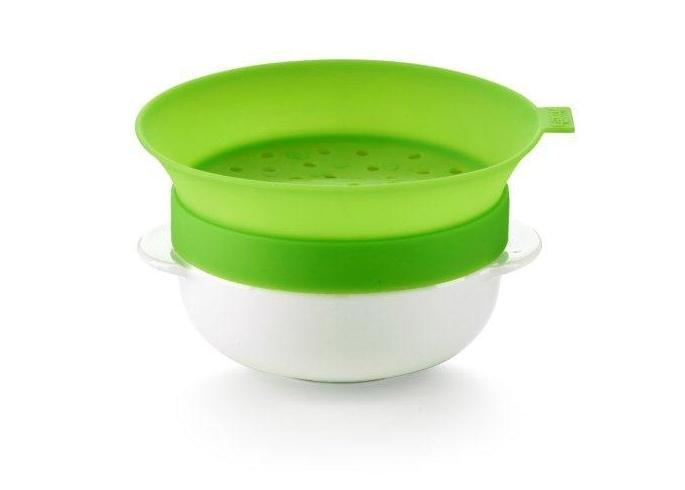 Форма для приготовления каши, 0,6 л / 1 порция Lekue (цвет: салатовый)