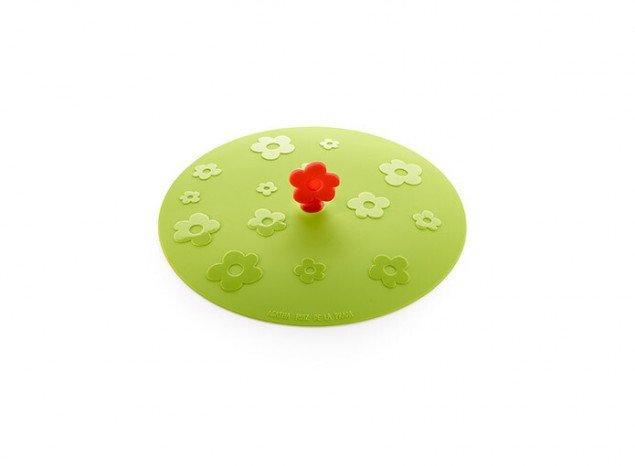 """Крышка герметичная вакуумная """"Цветок"""" AGATHA Lekue (21 см), салатовая"""