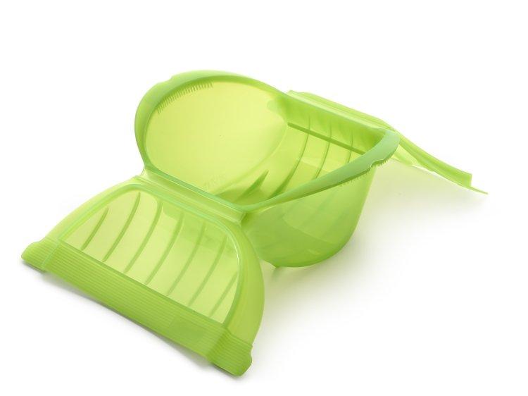 Конверт глубокий для запекания Lekue, 3-4 порции, зеленый