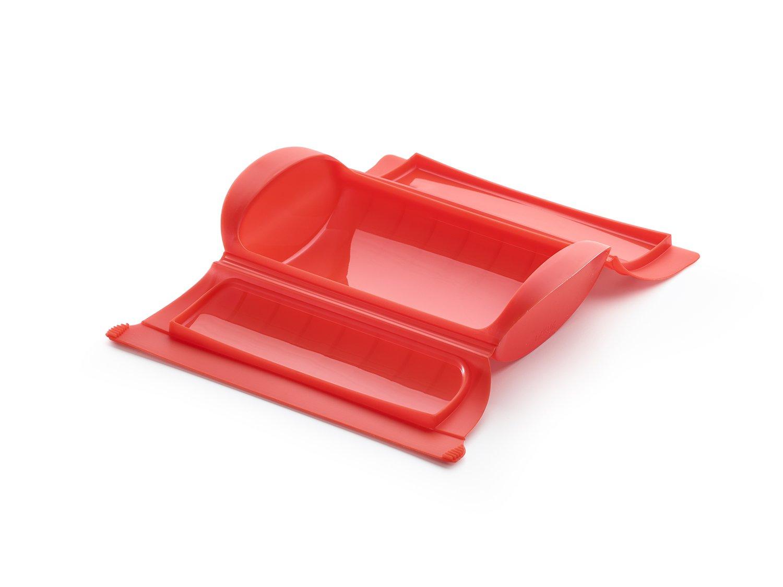 Конверт для запекания Lekue, 1-2 порции, красный