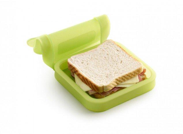 Бутербродница Lekue, салатовая