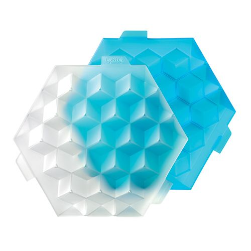 "Форма ""Кубики для льда"" Lekue, голубой"