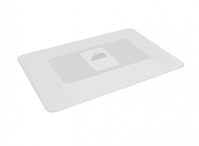 Крышка герметичная прямоугольная Lekue (35x25 см), белая