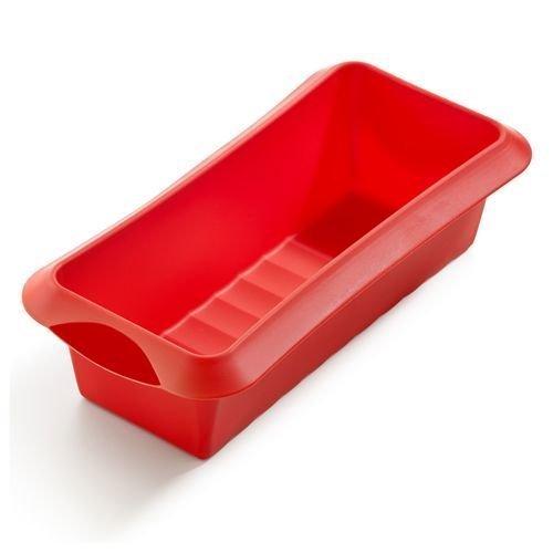 Форма для кекса Lekue силиконовая, 24 см., красная