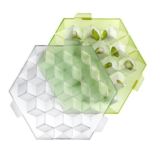 """Форма """"Кубики для льда"""" Lekue, салатовый"""