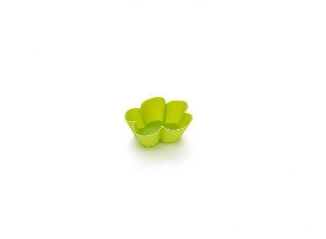 "Набор форм для маффинов Lekue ""Облако"" AGATHA 6шт, зеленый 4605002V10M033"