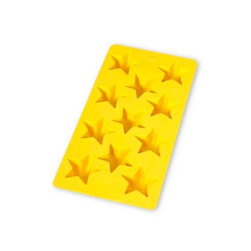 Форма для льда Звезды Lekue желтая
