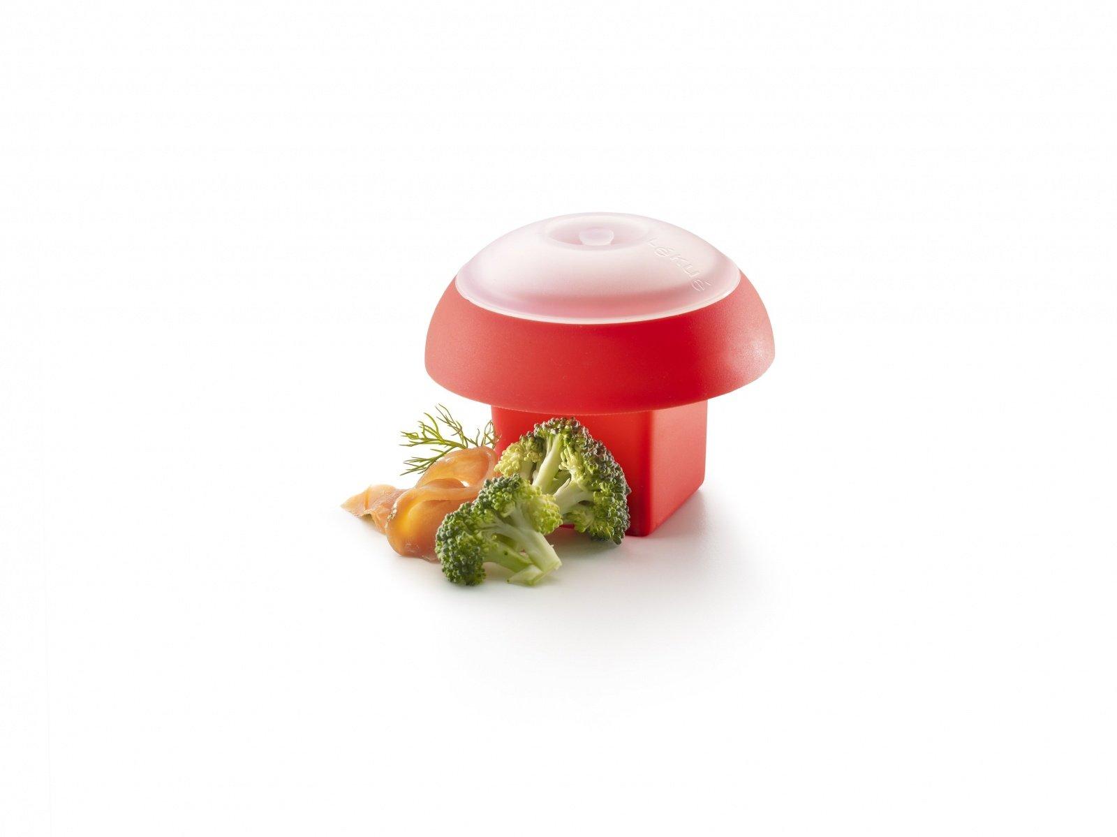 Яйцо-минутка Lekue, квадратная форма, красная