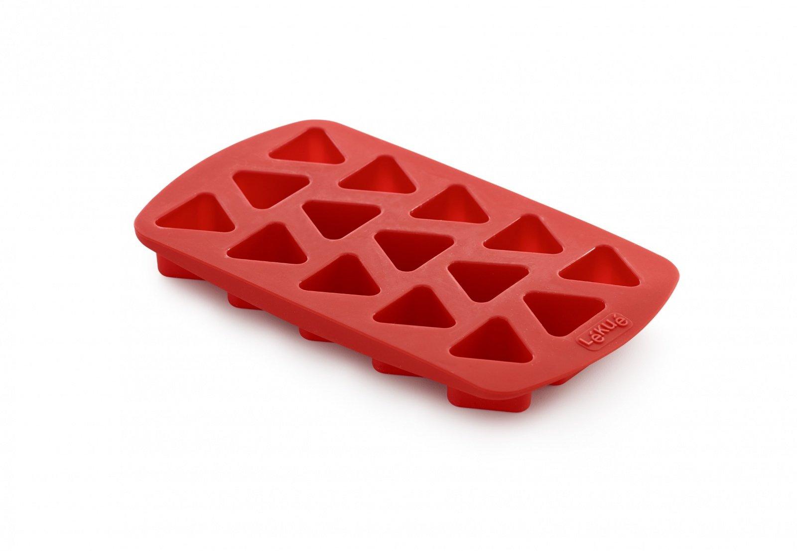 """Форма для конфет """"Треугольник"""" Lekue, красная"""