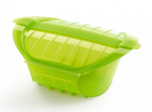 Конверт глубокий для запекания Lekue, 1-2 порции, зеленый