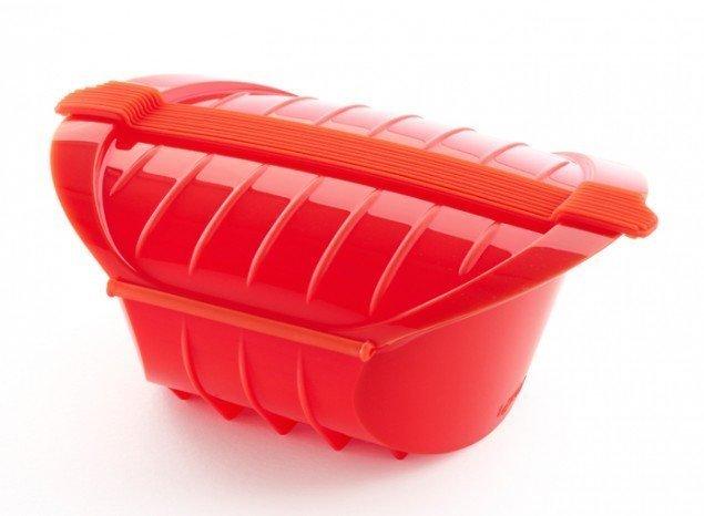Конверт глубокий для запекания Lekue, 3-4 порции, красный