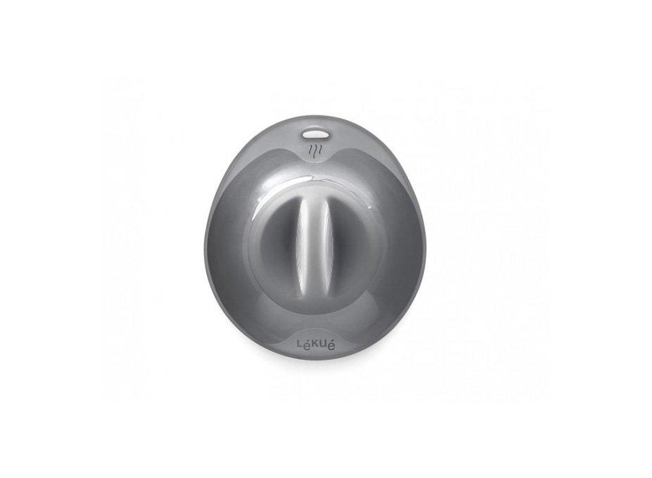 Крышка герметичная Lekue (17 см), графит