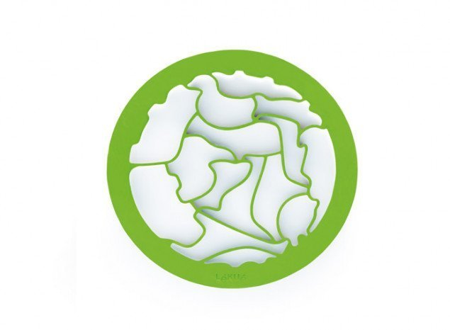 """Набор-игра """"Пазл Животные"""" для выпечки печенья Lekue (1 форма-трафарет с 15 контурами + игра)"""