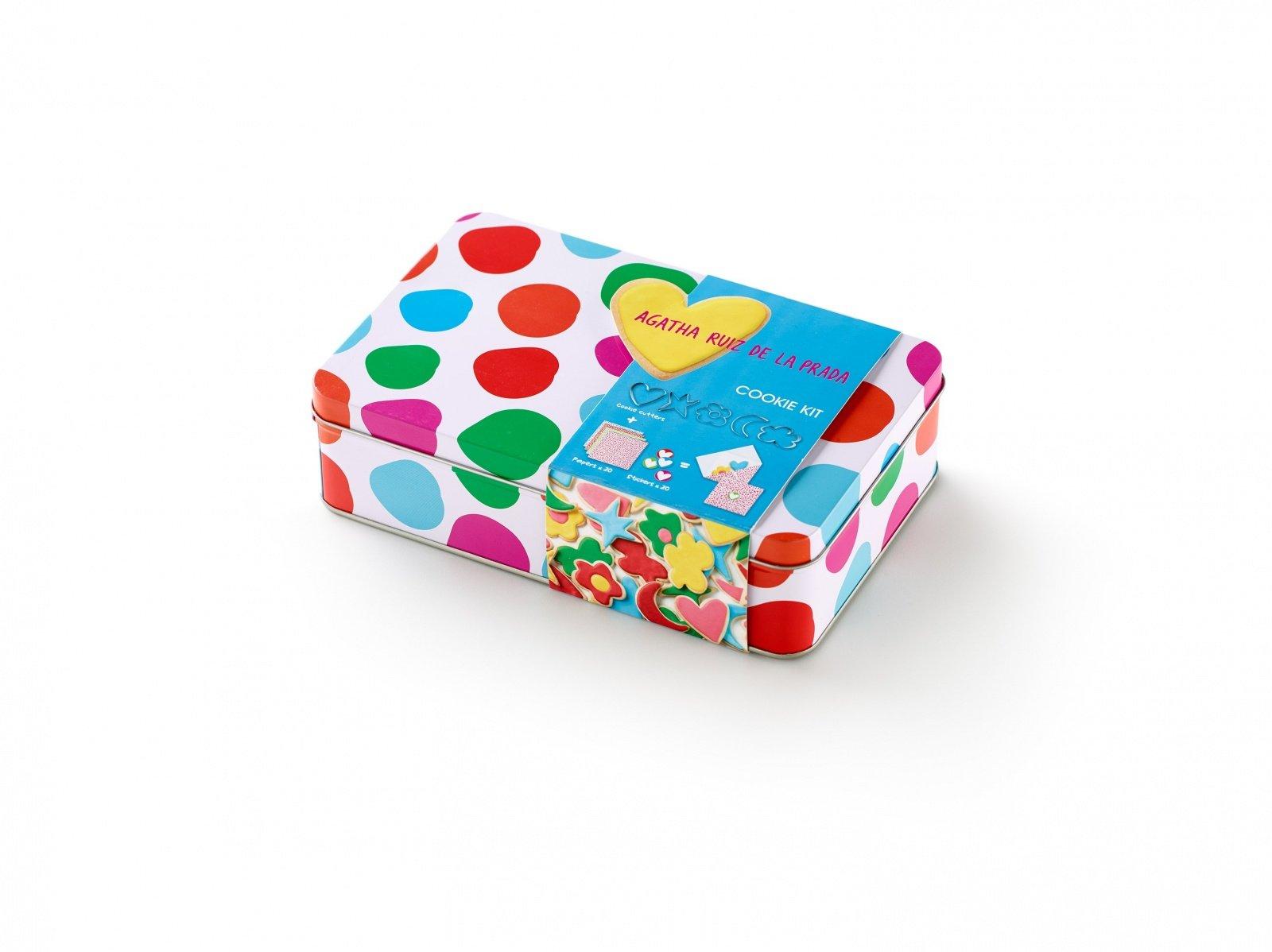 """Набор для печенья """"Горошки"""" AGATHA Lekue (5 формочек-контуров, набор конвертов)"""